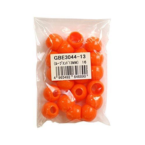 Boucle de couleur 13 mm 20 pièces orange