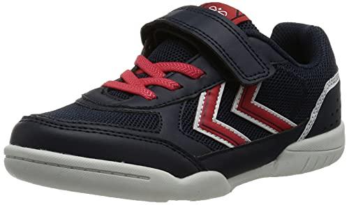 hummel AEROTEAM 2.0 JR VC Handball Shoe, Black IRIS, 40 EU