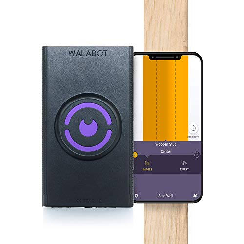 Walabot DIY, Stud Finder In-Wall Imager, Cell Phone Wall Scanner for Studs, Pipe, and Wires, (Only Compatible with Android smartphones running versions 6.0 or above) (Renewed)