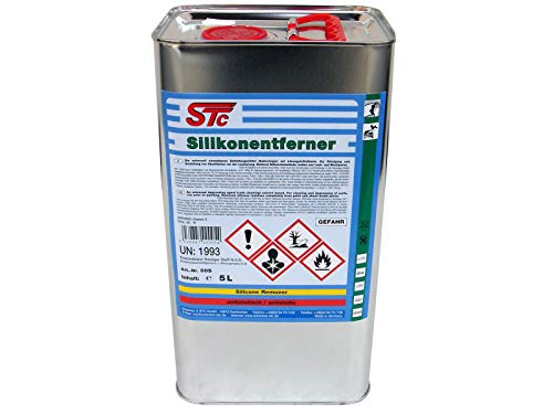 STC Silikonentferner 5 L Entfetter Reiniger für Autolack zur Oberflächenreinigung vor dem Lackieren