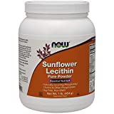 Now Foods Sunflower Lecithin Pure Powder, 454 g