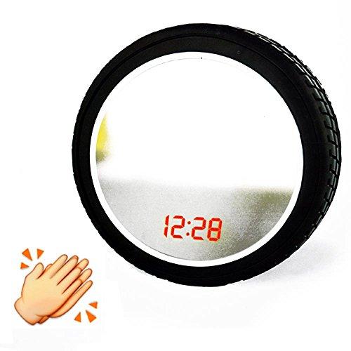 Specchio sportivo e orologio digitale con sensore battito di mani