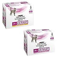 Balanced Wet Food Pro Plan Veterinary Diets Feline UR Urinary - 10 X 85g Chicken And 10 X 85g Salmon...