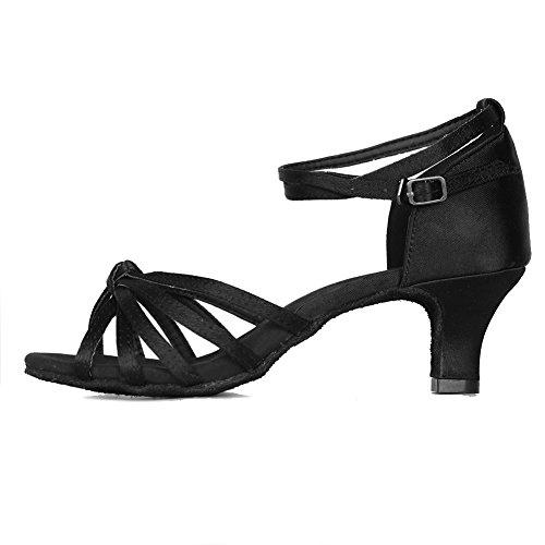 YKXLM Mujeres&Niña Zapatos latinos...