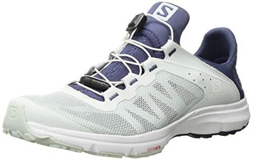 SALOMON Damen Shoes Amphib Bold Trekking- & Wanderhalbschuhe, Weiß (Illusionsblau/Kronenblau/Weiß), 40 EU