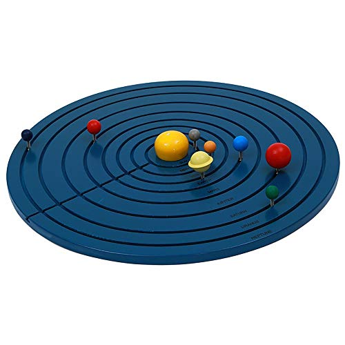 Montessori Solar System Teaching Materials of Science and Culture The