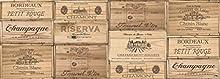 Vilber Gran Chef Riserva Alfombra, Vinilo, Marrón, 50x140x0.2cm