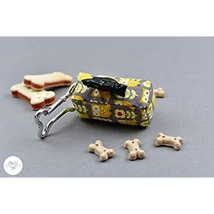 Hundekotbeutelspender – Eule gelb
