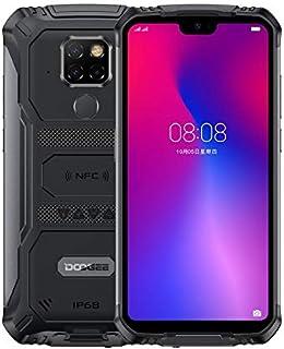 DOOGEE S68 Pro Rugged Phone, 6GB+128GB, IP68/IP69K Waterproof Dustproof Shockproof, 6300mAh Battery, Face & Fingerprint ID, 5.84 inch Android 9.0 MTK6771 Helio P70 Octa-Core, 4G, NFC(Black)