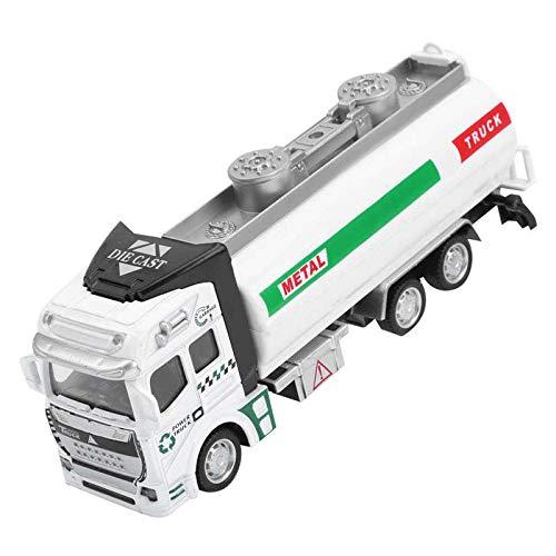 fangzhuo Vehículo de construcción Carro De Riego 1:48, Camión Cisterna, Modelo De Rociador, Vehículo para Niños, Modelo De Juguete, Limpieza De Carreteras, Ingeniería, Súper Camión