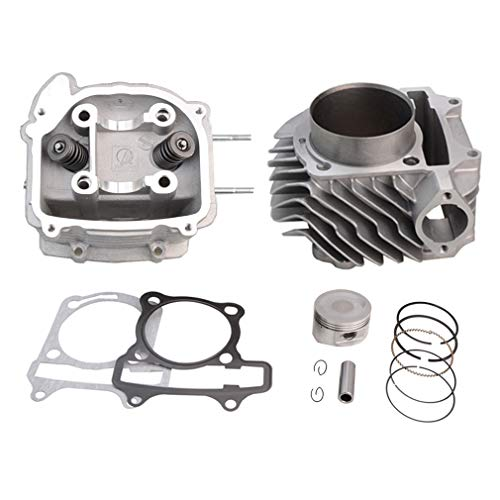 GOOFIT 63mm Engine Parts Cylinder Liners Heads Piston gasket Block Kit GY6 180cc 200cc 250cc ATV Off-Road Vehicle Engines