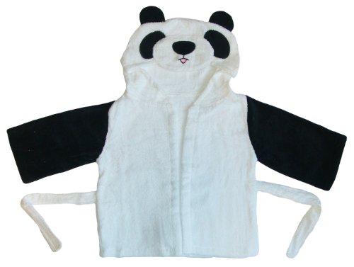 BOMIO DAS ORIGINAL Baby Bademantel mit Kapuze (Panda 1-3 Jahre)