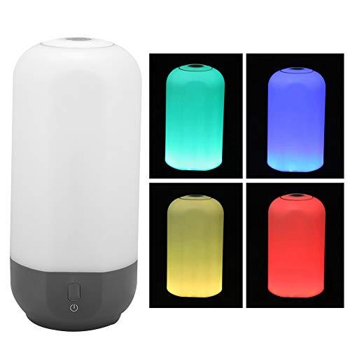 Jacksking RGB Lampe, USB Dimmbare LED RGB7 Fingerprint Touch Tap Lampe für Camping mit Haken Outdoor Zelt Licht