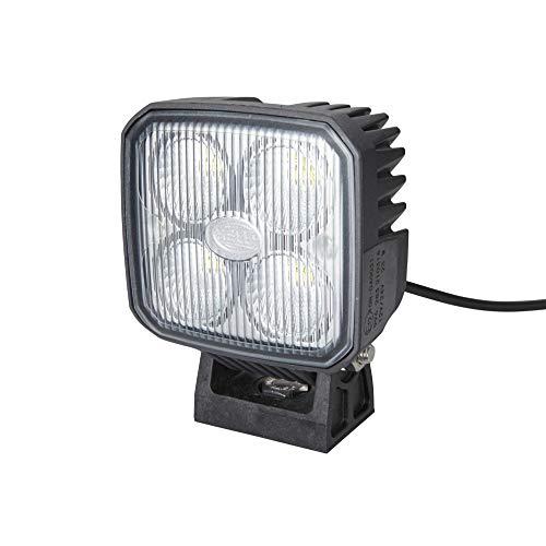 HELLA 1GA 996 283-081 LED-Arbeitsscheinwerfer - Q90 - 12/24V - 1200lm - Anbau/Bügelbefestigung - hängend/stehend - Nahfeldausleuchtung