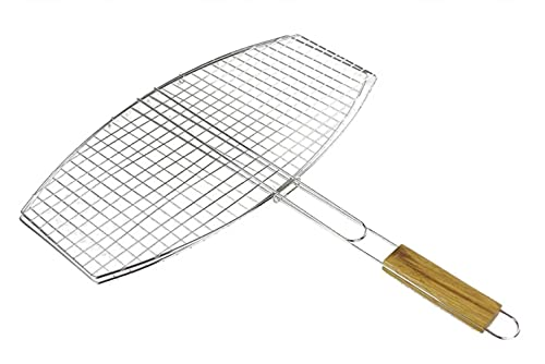 BBQ Collection 95190 Double Grille pour Barbecue Ovale 45 x 25 cm