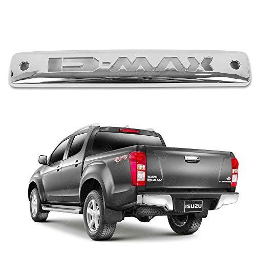 Powerwarauto Third Brake Lamp Light Trim Cover Chrome For Isuzu D-Max D max 2012 2013 2014 2015 2016 2017 2018 UTE Pick-Up