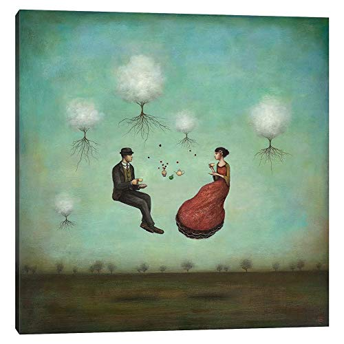 """iCanvas ICS262 Gravitea for Two Canvas Print by Duy Huynh, 26"""" x 26"""" x 1.5"""" Depth Gallery Wrapped"""