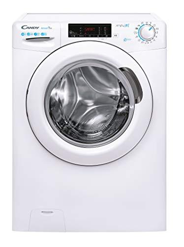 Candy Smart Pro CSO 14105TE/1-S Waschmaschine / 10 kg / 1400 U/Min. / Smarte Bedienung mit Wi-Fi und Bluetooth/Easy Iron – Dampffunktion/Symbolblende