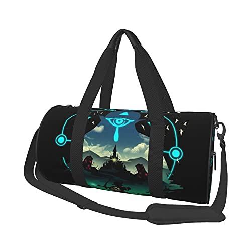 Juego de dibujos animados leyenda de Zelda ocio bolsa de viaje unisex Holdall bolsos de vuelo moda gimnasio deportes entrenamiento compras hombro bolsas