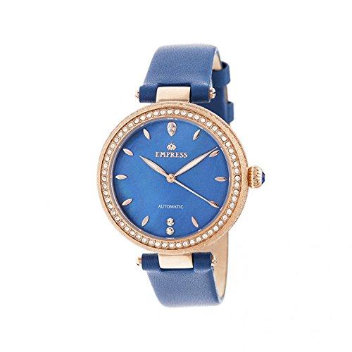 Empress Louise EMPEM2305 - Reloj de pulsera con correa de piel, color azul