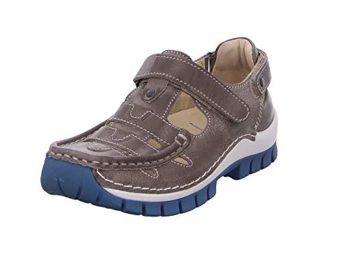 Wolky Comfort Extra Komfort Move - 35260 grau/blau Leder - 37