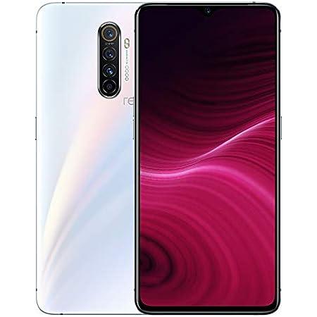 """realme X2 Pro Smartphone con Display da 6.4"""", 2340 x 1080 Pixel, 12 GB RAM e 256 GB ROM, SuperAMOLED, Processore Octa-Core, Quad Camera 64 MP e 16 MP, Dual Sim, Bianco (Lunar White)"""