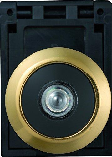 Abus 06747 - Mirilla para la puerta con óptica gran angular 2300, dorado