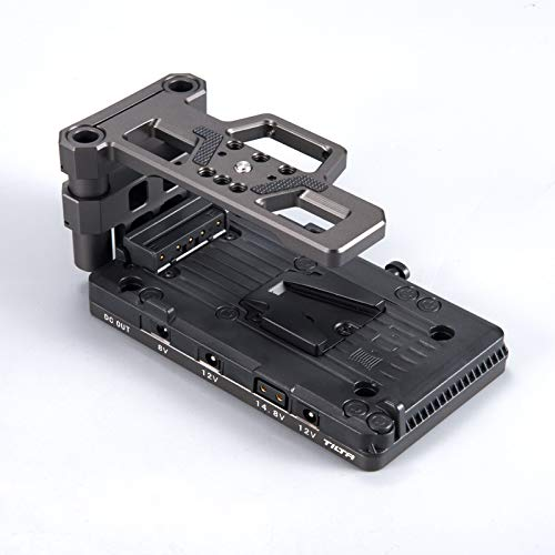 Tilta V-Mount Battery Baseplate TA-BSP2-V-G For BlackMagic Pocket BMPCC 4K 6K Camera