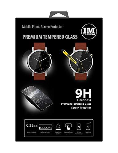 ENERGMiX Schutzglas kompatibel mit Motorola Moto 360 (2.Generation) 42mm // Premium Tempered Glas Bildschirmglas Panzer Folie Schutzfolie