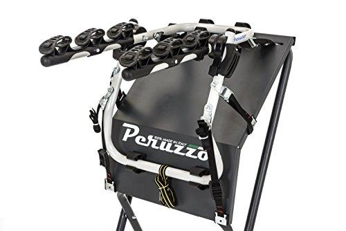 Peruzzo PE 382/ASC - Portabicicletas Trasero, Modelo Verona, de Aluminio, para 3Bicicletas