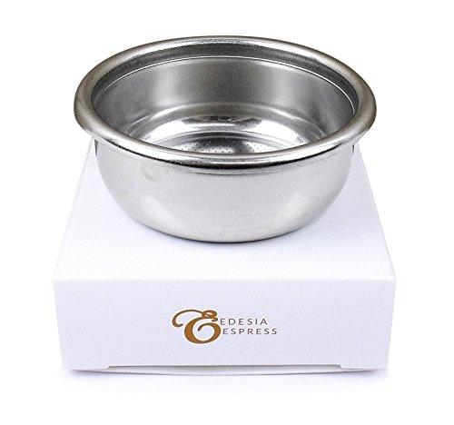EDESIA ESPRESS - Sieb-Einsatz für CARIMALI - Ersatz für Siebträger - 14 g (2 Tassen)