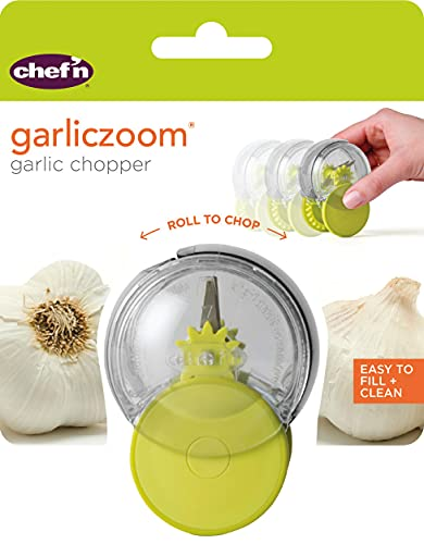 Chef'n Garliczoom Garlic Chopper, One Size, Green