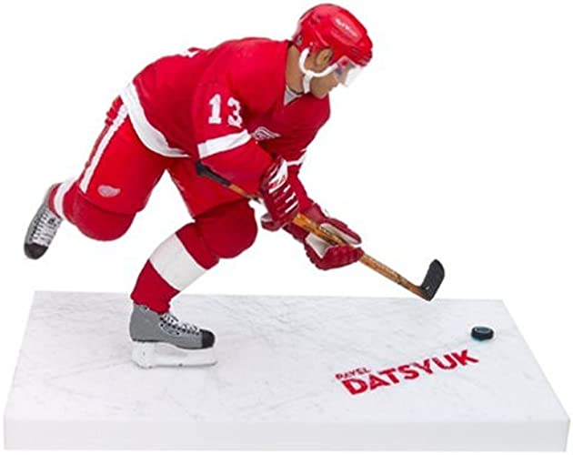 McFarlane NHL Action Figures Series 9  Pavel Datsyuk rouge Jersey Variant by Unknown