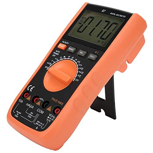 VC97 Multimetro digitale a portata automatica, Voltmetro ohm di tensione di corrente, Tester di resistenza di tensione, Voltmetro a pinza portatile