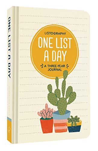 Listography: One List a Day; a Three-year Journal