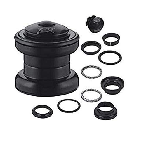 """CDHPOWER 10pcs 1"""" Threadless Bicycle Headset Combo- Gas Motorized Bicycle (Black)"""
