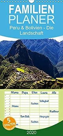 Peru & Bolivien - Die Landschaft - Familienplaner hoch (Wandkalender 2020 , 21 cm x 45 cm, hoch): 13 wunderschöne Landschaftsaufnahmen aus Peru und ... Olaf Bruhn (Monatskalender, 14 Seiten )