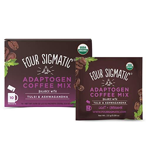 Four Sigmatic Adaptogen Coffee - USDA Organic Coffee with Tulsi & Astragalus