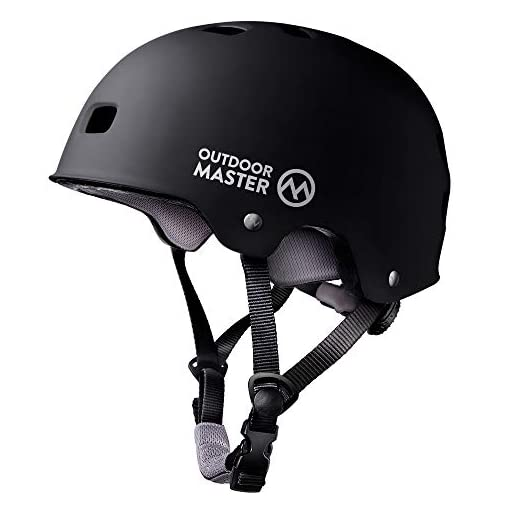 OutdoorMaster-Skateboard-Cycling-Helmet-ASTM-CPSC-Certified-Two-Removable-Liners-Ventilation-Multi-Sport-Scooter-Roller-Skate-Inline-Skating-Rollerblading-for-Kids-Youth-Adults
