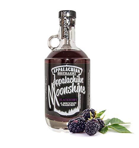 Appalachian Moonshine - Blackberry. 35% Vol - Echter handgefertigter Moonshine Whisky aus West Virginia - USA.