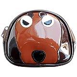 日本製 犬柄 ポーチ 小物入れ かわいい レディース メンズ 犬用 おやつ ダックスフンド 雑貨 グッズ 不機嫌ワンコ