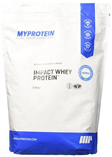 MyProtein Impact Whey Protein Natural Chocolate 2.5kg - 2500 g