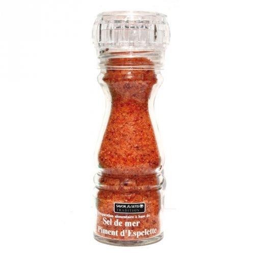 Salz mit Espelette-Pfeffer - Französisch delikatessen