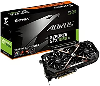 Gigabyte AORUS GeForce GTX 1080 Ti Xtreme Edition 11G - Tarjeta gráfica (NVIDIA, GDDR5X, 7680x4320 )