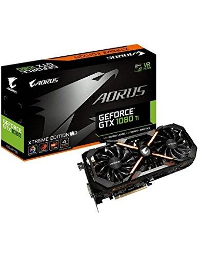 GIGABYTE GeForce GTX 1080TI AORUS X (11GB GDDR5X Xtreme Edition, ATX) schwarz