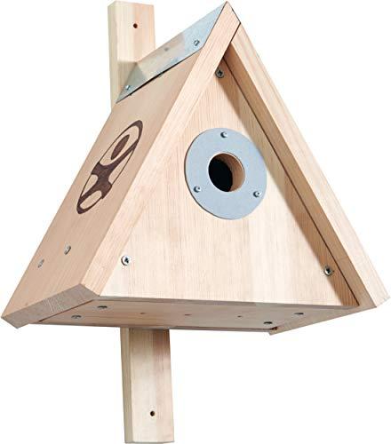 Haba 304544 - Terra Kids nestkast - bouwpakket, bouwpakket en handleiding voor het zelf bouwen van een nestkast voor kinderen (28,5 x 40 x 28,5 cm), voor het bekijken van vogels