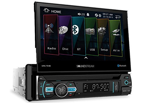 """Soundstream VRN‐75HB in Dash Media, 7"""""""