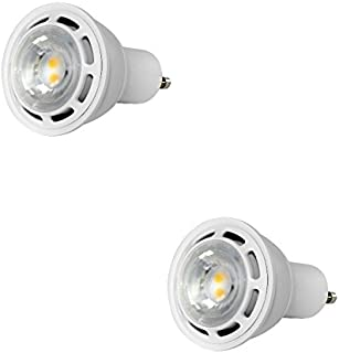 Dimmable PAR16 LED 6W 50 Watt Equal 5000K 66 Lumens Per Watt Euri Lighting EP16-2050w (Pack of 2)