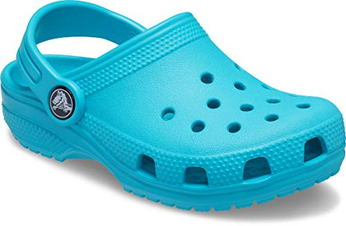 Crocs Unisex Kinder Classic K Clogs, Digital Aqua, 33/34 EU
