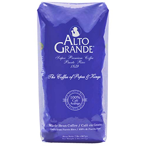Alto Grande Premium Coffee Whole Bean - 2 Lbs (Pack of 1)